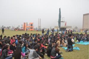 Alumnos del primer año de todas las carreras universitarias participaron de encuentro de liderazgo.