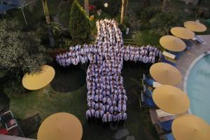 Pastores que asistieron al Concilio Ministerial, para Aspirantes, de la Unión Peruana del Sur.