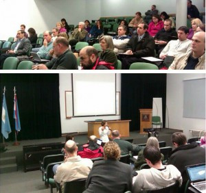 Docentes de la Universidad Adventista del Plata, participan de taller.