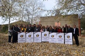 Feligreses que participaron del III Evangelismo Radial en el predio Los Quebrachos, en Argentina.