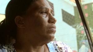 Madalena dos Anjos, esposa del pastor Antonio Monteiro, preso casi 500 dias en Togo.