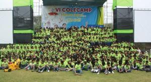 Alumnos que participaron del VI Colecamp al norte de Perú.