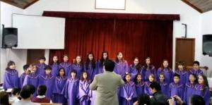Participación de uno de los coros de las Escuelas Adventistas de Argentina.