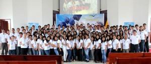 Jóvenes de Ecuador participantes del proyecto Sueña en Grande.