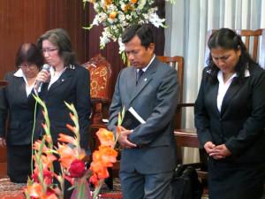 Colegios adventistas en Trujillo celebran aniversario institucional