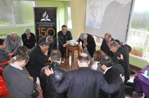 Momentos de consagración se vivieron en el Encuentro.