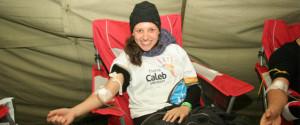 Jóvenes Adventistas donaron sangre como servicio a la comunidad, en Uruguay.