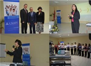 Imágenes de lo que fue la Jornada de Enfermería en la UNAPY.