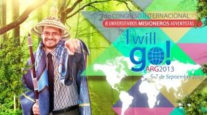 El evento ya tiene su hasgtag (#IWillGo), para divulgación en las redes sociales.
