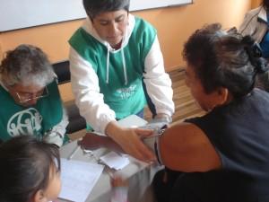 Área Medicina General, doctores voluntarios para la Campaña Gratuita de Salud.