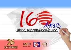 Portada del álbum de fotos con datos históricos de la Escuela Sabática, en facebook de la Misión Ecuatoriana del Norte