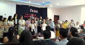 """Líderes del Ministerio de la Mujer de la Misión Ecuatoriana del Norte se comprometen para evangelismo satelital """"La última Esperanza"""""""