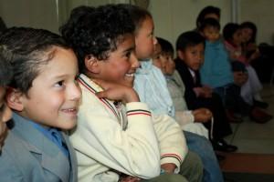 Niños reciben instrucciones para el Día del Niño Adventista