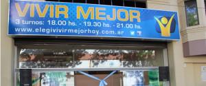 Centro de influencia, Vivir Mjejor, ubicado en el corazón de Buenos Aires, Argentina.