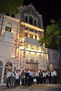 Centro de Influencia en Rosario, que será el nuevo templo adventista de la ciudad.