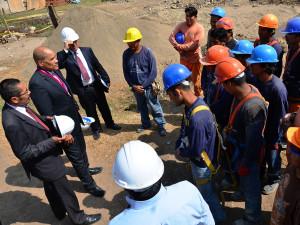 Vicepresidente Mundial de la iglesia adventista visita sede en el Norte del Peru2