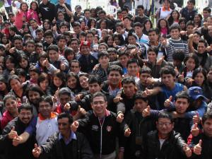 encuentro de jóvenes y universitarios adventistas en trujillo