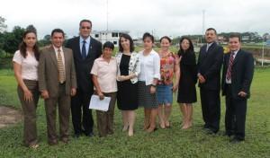 Visita de Debora Siqueira, coordinadora de la División Sudamericana del Servicio de Voluntarios Adventistas junto a líderes del ITSAE