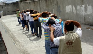 Capacitación de brigadistas voluntarios en Esmeraldas.
