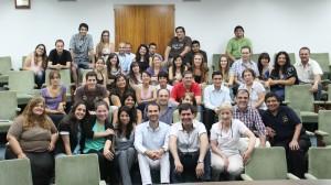 Profesionales que participaron de la capacitación en Primeros Auxilios Psicológicos, organizado por ADRA Argentina.
