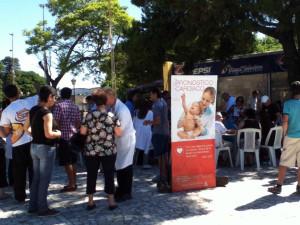 Se calcula que fue la Expo salud con mayor convocatoria en Paysandú, Argentina.