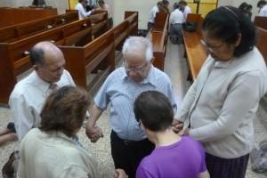 La Iglesia Adventista en el sur del Perú se unió en oración y estudio de la Biblia desde tempranas horas de la mañana.