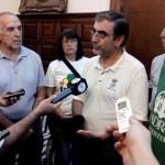 Director ADRA Argentina con la Prensa