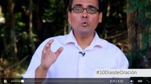 Presentador del micro programa, #10DíasdeOración en el perfil de Facebook de la TV Nuevo Tiempo.