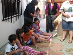 La gran mayoría de niños conocieron por primera vez de las historias de la Biblia.