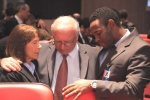 Trabajadores de la Sede Sudamericana Adventista participaron en cultos especiales por el proyecto de oración.