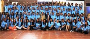 Más de medio de centenar de jóvenes recorre Uruguay compartiendo esperanza