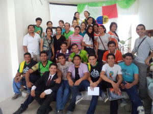 Jóvenes de las ciudades de Calceta, Chone, Portoviejo, Manta, Jipijapa y Junín.