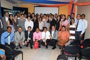 """40 Corresponsales ADRA-NT dispuestos a iniciar el """"Ministerio de Comunicaciones"""" más grande de Ecuador."""