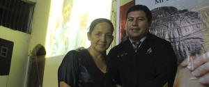 La esposa de Alfredo fue bautizada en  una de las Iglesias Adventistas de Pucallpa.