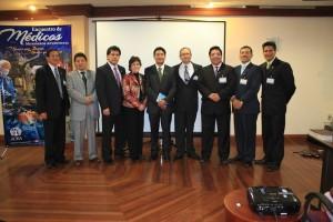 Miembros de la directiva de APROAS