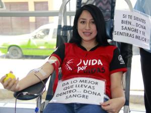 Jóvenes adventistas donaron mas de 100 unidades de sangre
