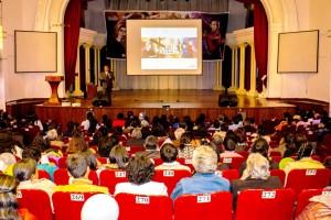 El Teatro Lalama de Ambato, congregó a los Distritos de Ambato, Tungurahua y Cotopaxi en la presentación de La Conquista de Ambato.