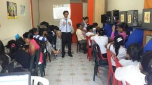 Pastor Emerson Freitas dirigió la capacitación a todos los secretarios de Lago Agrio