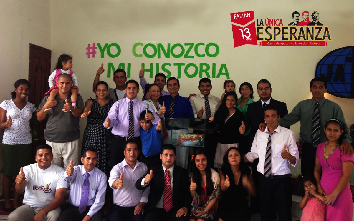 """Participantes del concurso """"Yo Conozco MI Historia"""" en Santo Domingo de los Tsachilas - Ecuador."""