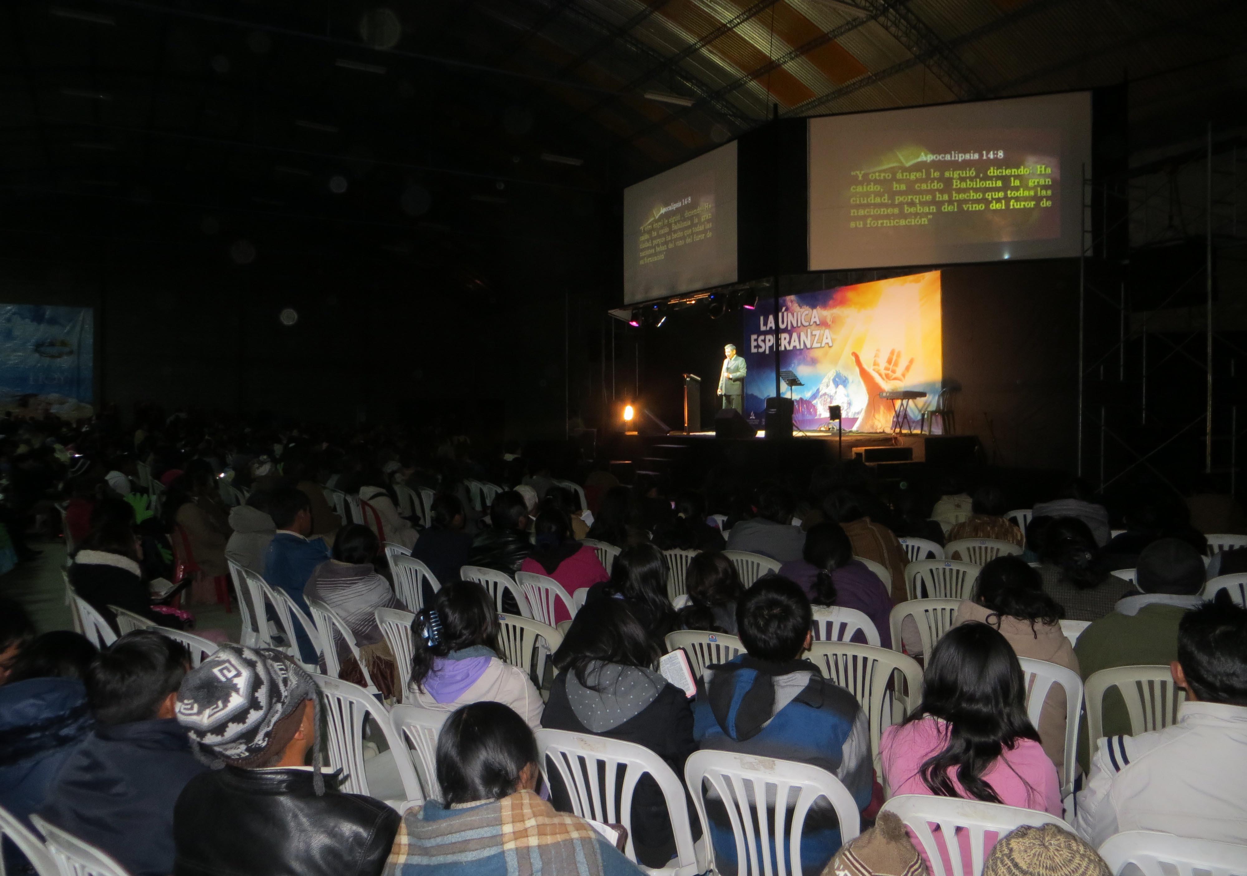 1ra. Noche de la Campaña Evangelística