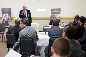 Encuentro con los principales secretarios ministeriales de la Iglesia en ocho países sudamericanos se desarrollo en Guarulhos, SP, Brasil.