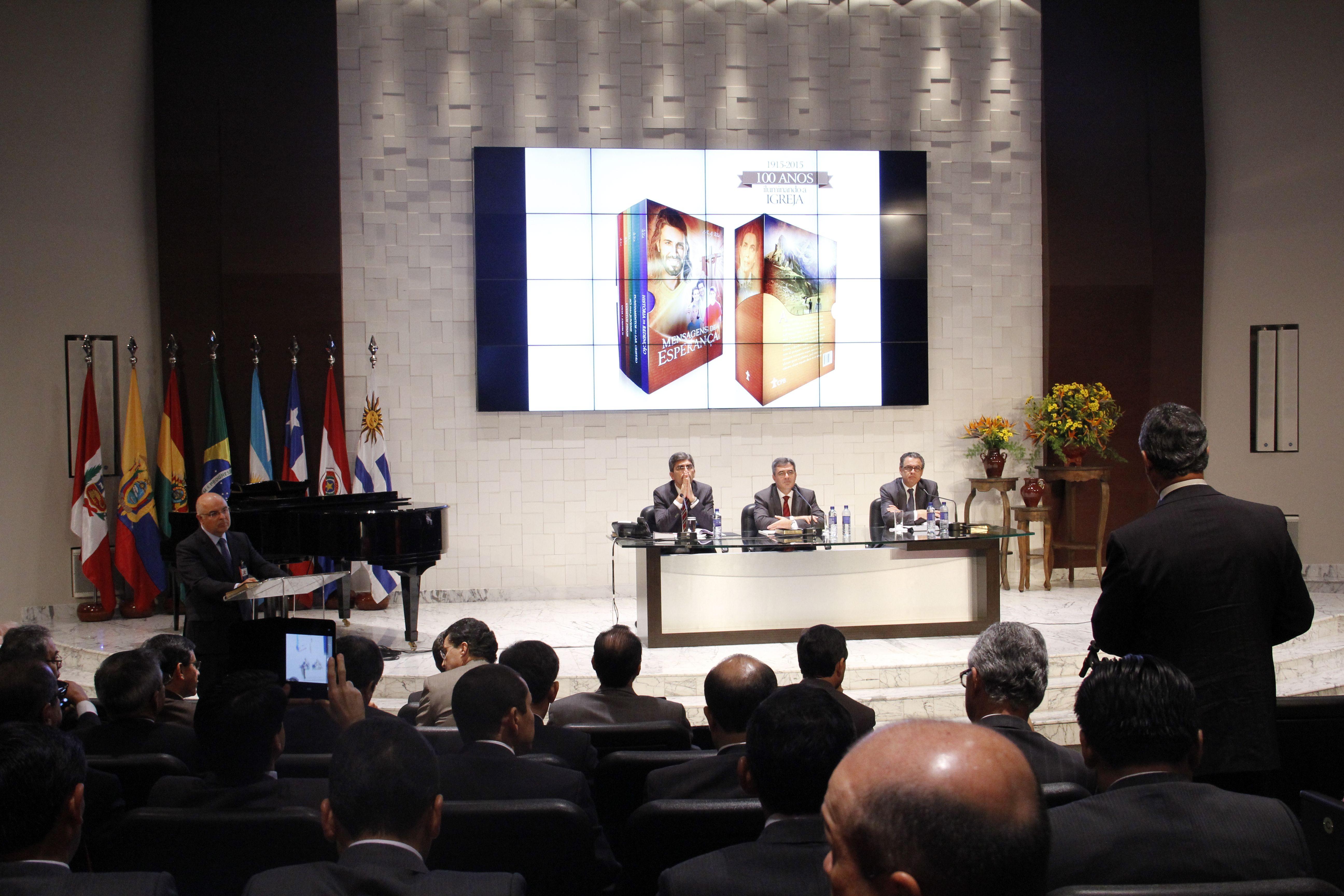 Lanzamiento fue hecho durante reuniones administrativas del liderazgo adventista para América del Sur.