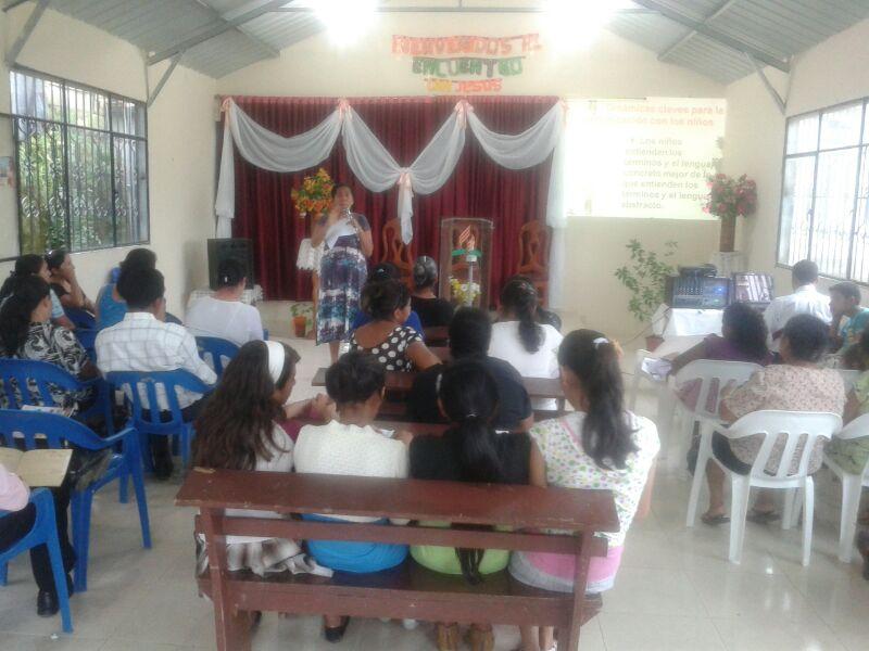 La capacitación fue brindada por los líderes de Misión y los distritos misioneros de los Departamentos del Menor