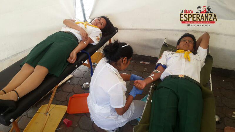 """Conquistadores del Distrito Quito """"A"""", mostraron a través de su participación, el interés de compartir el mensaje de Dios, a través de sus donaciones voluntarias"""