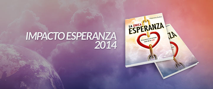 El objetivo es entregar 20 millones de ejemplares del libro La Única Esperanza este 31 de mayo.