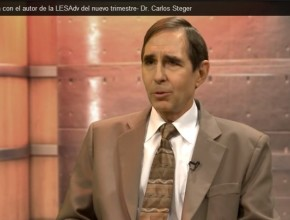 Dr. Carlos Steger, autor de la Lección de Escuela Sabática para este nuevo trimestre.