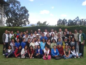Brigadistas Coordinadores que participan del curso de Primeros Auxilios