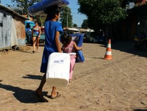 Familias afectadas por inundaciones fueron beneficiadas por ADRA.
