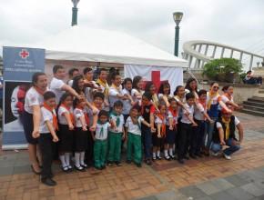 Jóvenes de la Iglesia Adventista de Quevedo, Ecuador