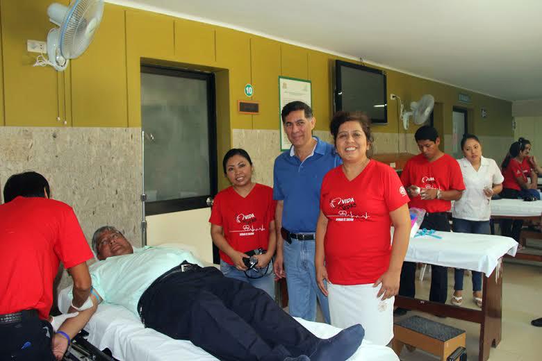 """""""Vida por vidas"""" recauda cerca de 100 unidades de sangre en la selva nororiental."""